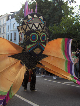 Londres Carnaval Notting Hill