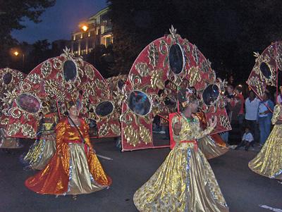Londres Festival de la Tamise Thames Festival Carnival