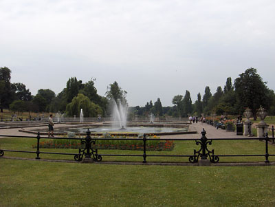 londres Fontaine Kensington Gardens