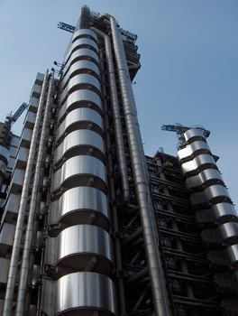 Londres La City immeuble de la Lloyd's