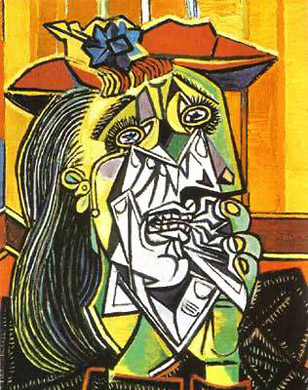 Londres Tate Modern Museum picasso la femme qui pleure