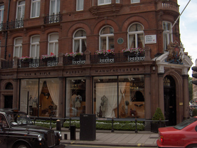 Londres Mayfair magasin famille royale