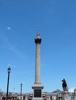 Londres Nelson Column Trafalgar Square