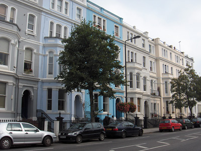 Londres Maisons de Notting Hill