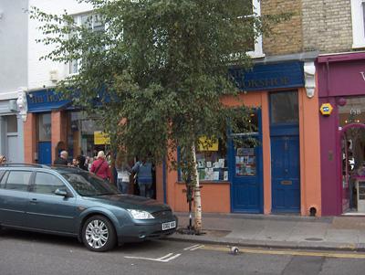 Londres Librairie Travel Bookshop