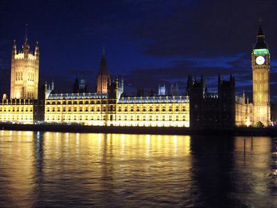 Londres nuit Big Ben Houses of Parliament