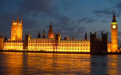 Londres Big Ben Houses of Parliament night