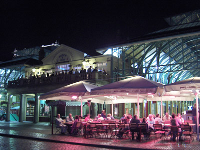 Londres nuit Covent Gardens