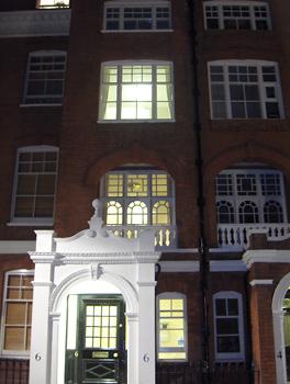 Londres nuit Evelyn Gardens