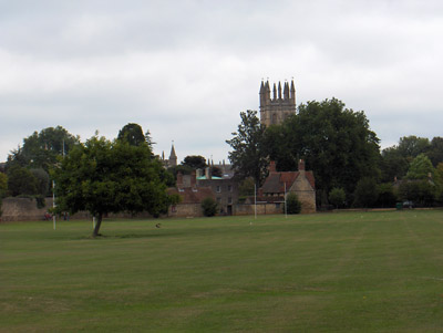 Londres Oxford Christ Church paysage campagne