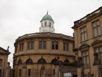 Londres Oxford Sheldonian Theater