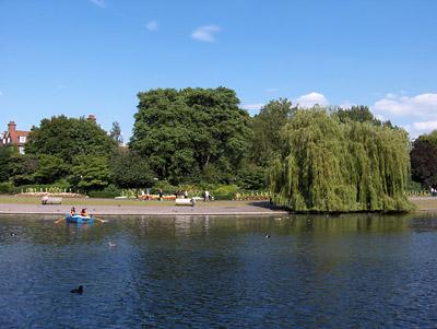 londres Lac dans Regent's Park