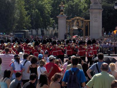 Londres Relève de la garde