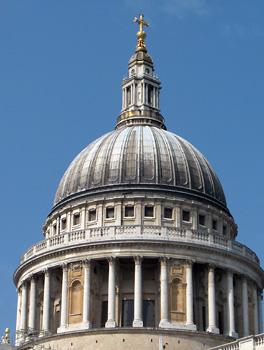 Londres La City Dôme de la Cathédrale Saint Paul