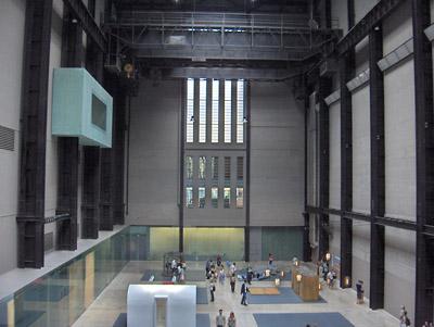 Londres Tate Modern Museum intérieur