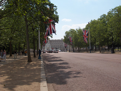 londres The Mall