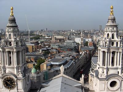 Londres vue du ciel saint paul galerie