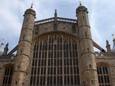 Londres Windsor Chapelle Saint Georges