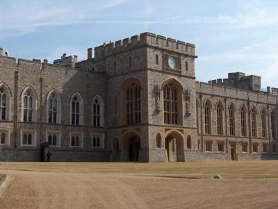 Londres Windsor cour intérieure