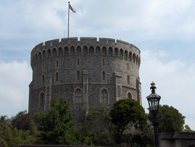 Londres Windsor The Round Tower le donjon