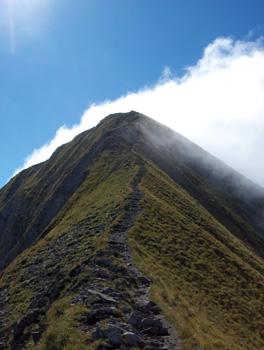 photo montagne alpes randonnée Mont Charin arête sommet