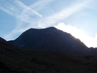 photo montagne alpes randonnée Mont Charvin lever de soleil