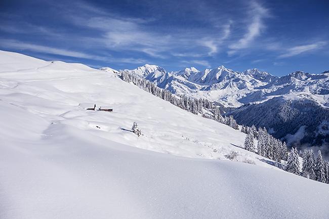 photo montagne alpes ski randonnée savoie beaufortain saisies mont clocher