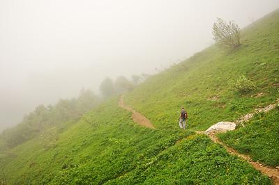 photo montagne randonnée alpes bauges mont colombier