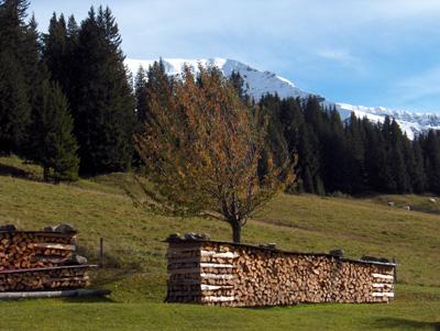 photo montagne alpes randonnée Mont Géroux Mont Joux automne