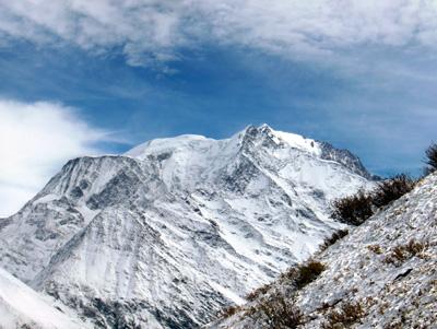 photo montagne alpes randonnée Mont Géroux Mont Joux Mont Blanc