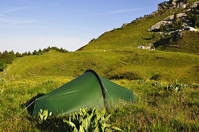 photo montagne alpes randonnée chartreuse bivouac alpette