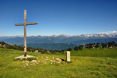 photo montagne alpes randonnée chartreuse croix de l'alpe