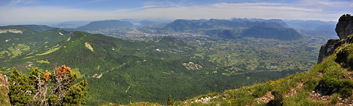 photo montagne alpes randonnée chartreuse mont granier croix panorama