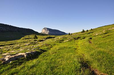 photo montagne alpes randonnée chartreuse plateau de l'alpette