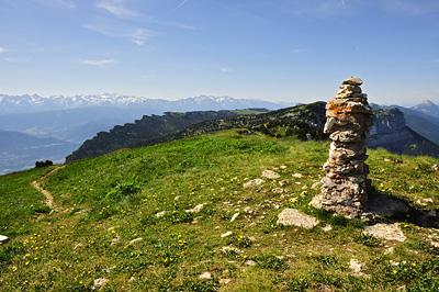 photo montagne alpes randonnée chartreuse mont granier sommet