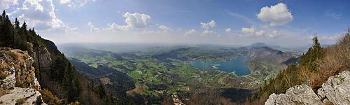 photo montagne alpes randonnée chartreuse mont grele panorama aiguebelette