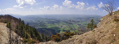 photo montagne alpes randonnée chartreuse mont grele panorama