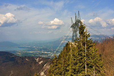 photo montagne alpes randonnée chartreuse mont grele pylône EDF
