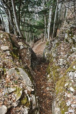 photo montagne alpes randonnée chartreuse mont grele descente rochers