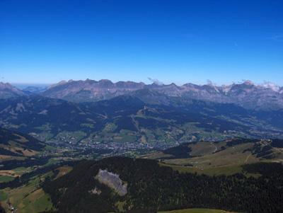 photo montagne alpes randonnée Mont Joly Megève Aravis