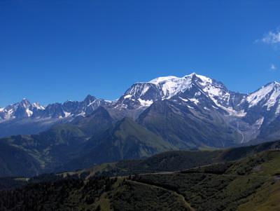 photo montagne alpes randonnée Mont Joly Mont Blanc Croix du Christ