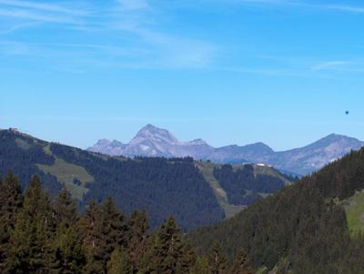photo montagne alpes randonnée Mont Joly Mont Charvin