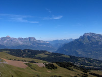 photo montagne alpes randonnée Mont Joly