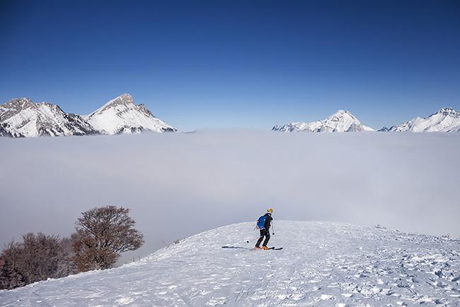 photo montagne alpes randonnée rando raquettes savoie bauges routhennes mont pelat mont morbier