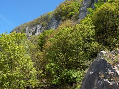 photo montagne alpes randonnée Mont Saint Martin cheminée