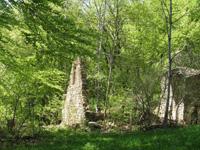 photo montagne alpes randonnée Mont Saint Martin ruines des combes