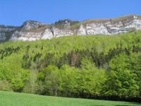 photo montagne alpes randonnée Mont Saint Martin rochers de l'église