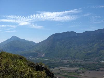 photo montagne alpes randonnée Mont Saint Martin Vercors