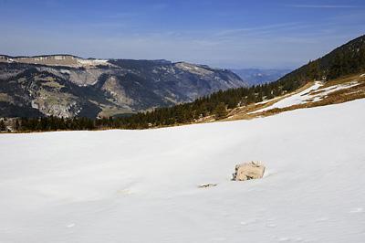 photo montagne randonnée vercors moucherotte plateau ramees moliere charande