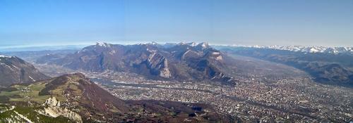 photo montagne alpes randonnée Moucherotte panoramique
